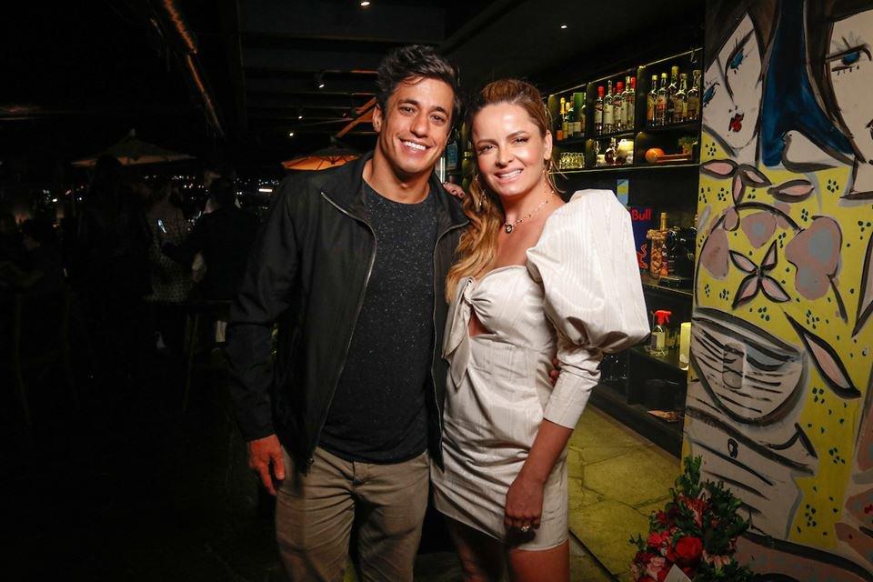Thadeu Alencastro e Lorena Leão