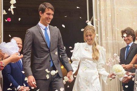 Casamento de Alexandre Arnault e Géraldine Guyot, em Paris
