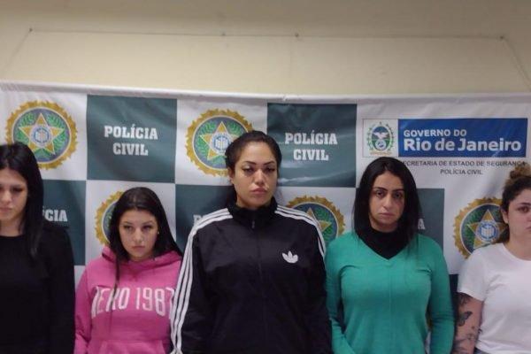 Grupo foi preso pela Polícia Civil do Rio