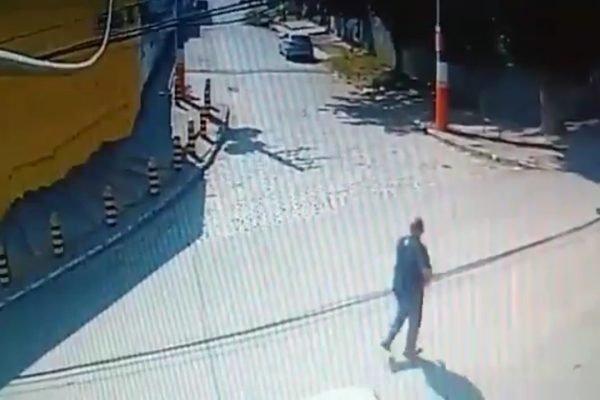 Imagens de câmeras de segurança mostram ação de bandidos contra militar do Exército assassinato