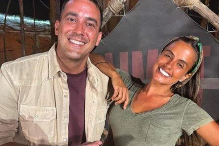 André Marques e Carol Peixinho juntos