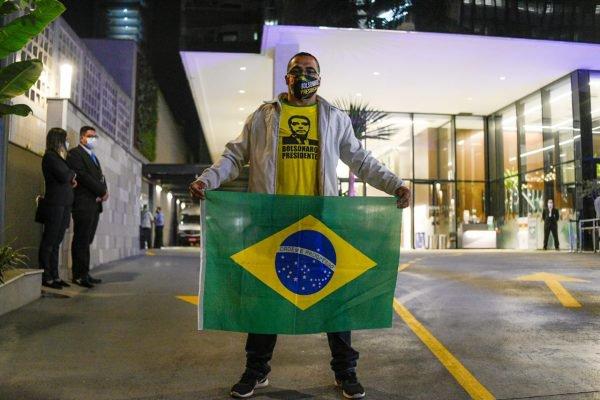 Eleitor Bolsonaro em Hospital de SP