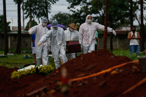 Pandemia covid-19 Goiás
