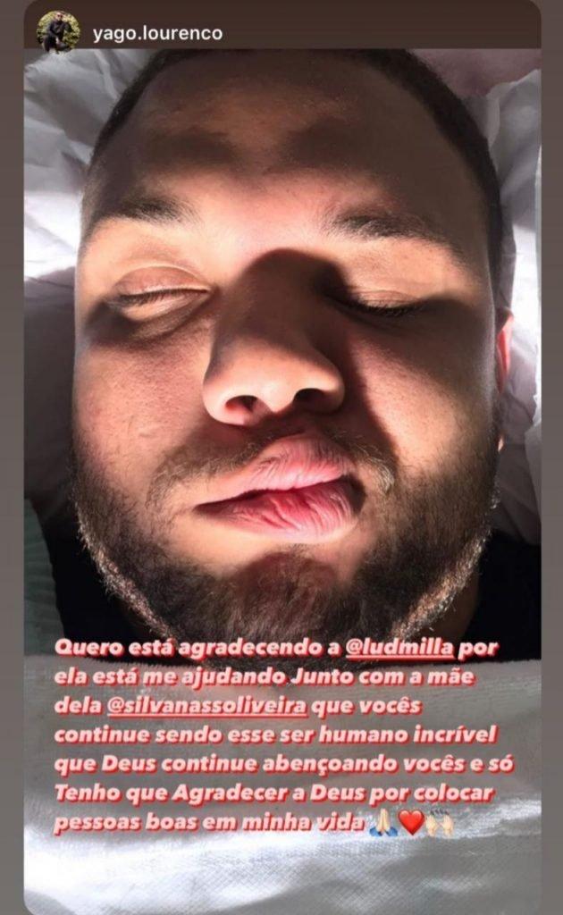 ludmilla fã yago lourenço (1)