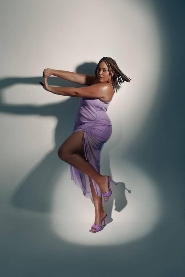 Rita Carreira em campanha de calçados da Eurico