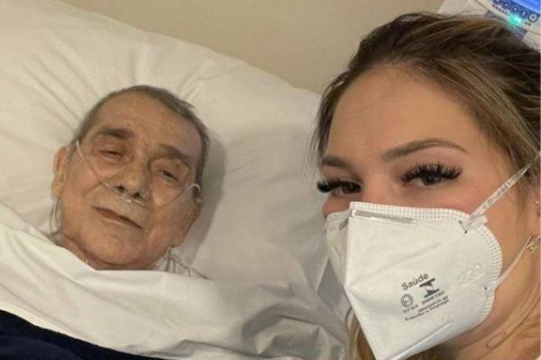 Virginia Fonseca e o pai