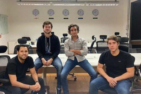 Serginho Assunção, Marcelo Uyvari, Theo Braga e Bruno De Luca