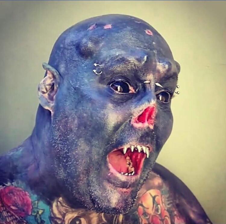 Caveira tatuador