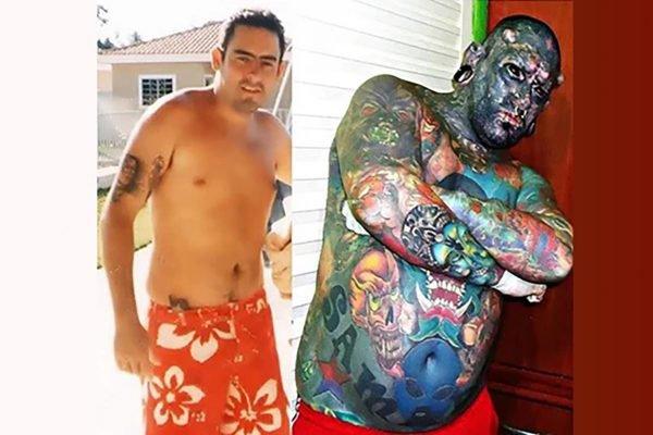 Caveira Tatuado