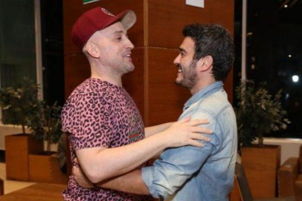 Marcos Veras e Paulo Gustavo
