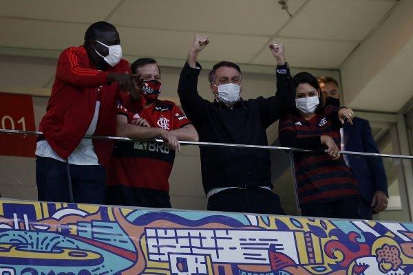 Flamengo Bolsonaro Michelle