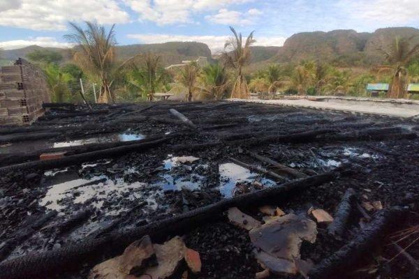 Incêndio Hot Park Rio Quente