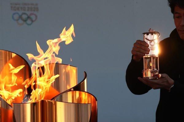 Chama olímpica Tóquio