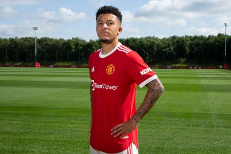 Jadon Sancho no Manchester United