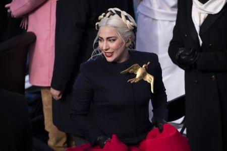 Lady Gaga na posse de Joe Biden