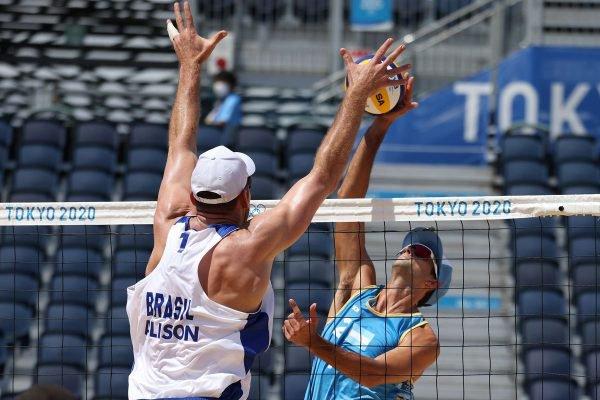 Alisson Brasil vôlei de praia