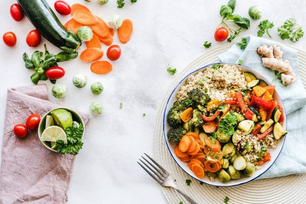 Salada - legumes e vegetais