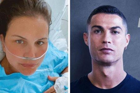Katia Aveiro e Cristiano Ronaldo