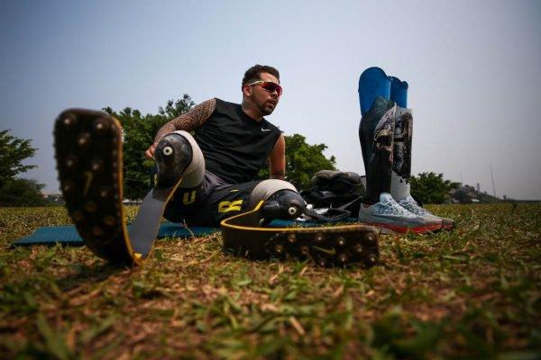 Alan Fonteles, atleta paralímpico brasileiro