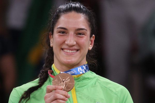 mayra aguiar olimpiada medalha