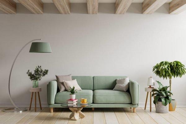 Decoração de casa, sala de estar