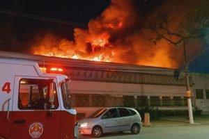 Incêndio na Cinemateca de SP