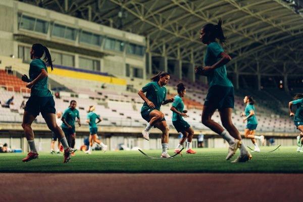 Seleção Feminina treino
