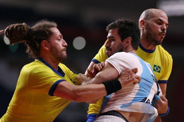 Brasil x Argentina handebol
