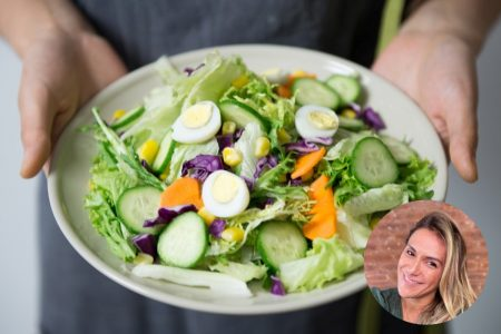 salada dieta alimentação saudável