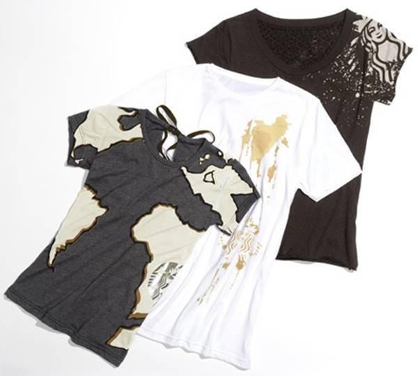 Camisetas Starbucks x CFDA