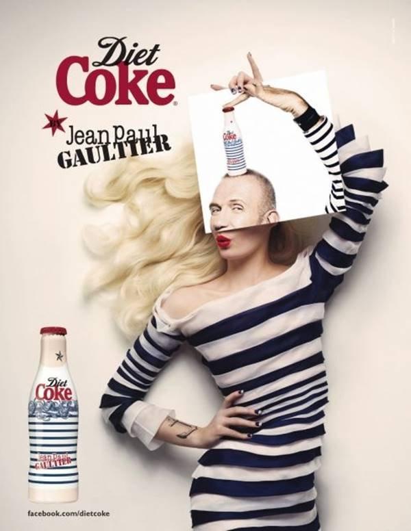 Collab Coca-Cola x Jean Paul Gaultier
