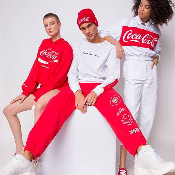 Roupas da Coca-Cola Jeans
