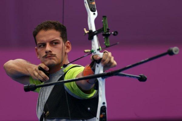 Marcus D'Almeida do tiro com arco