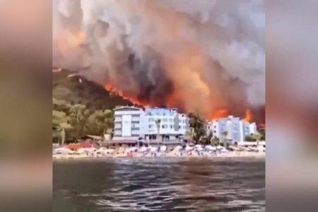 Incêndio Turquinha Julho de 2021