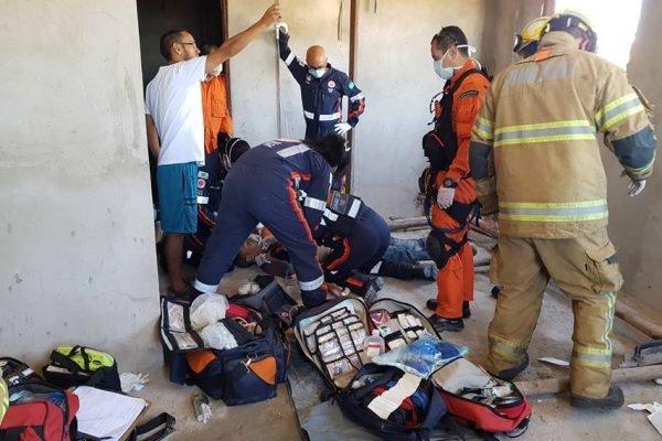 Pedreiro morre ao levar choque em obra clandestina em Sobradinho 2