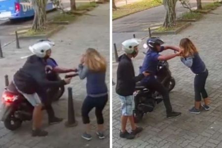 Assalto em frente a escola na Barra da Tijuca, zona oeste do Rio