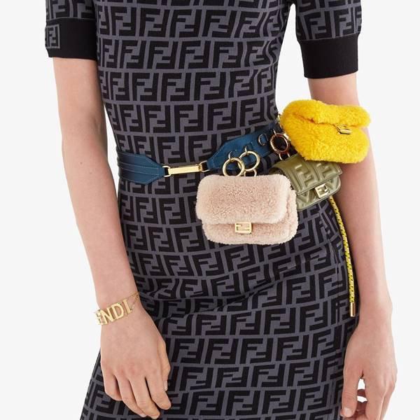 Vestido da Fendi com o monograma FF