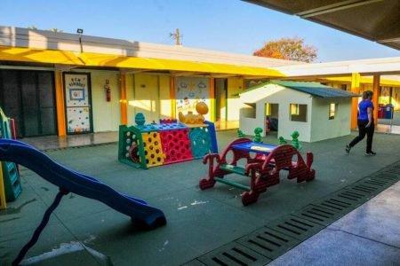 Inauguração de escola no Areal, em Taguatinga