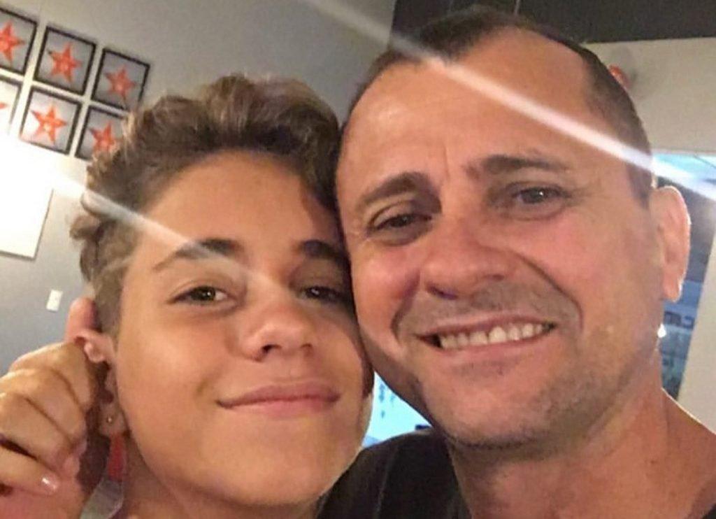 Pai de Lucas Santos, que morreu após críticas no TikTok