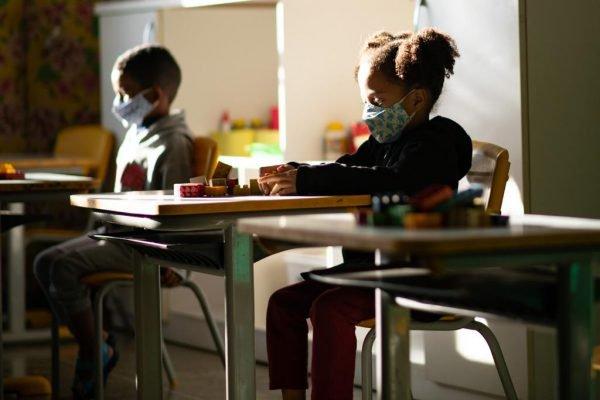 Retorno das aulas presenciais no Centro de Educação Infantil nº 1, no Paranoá