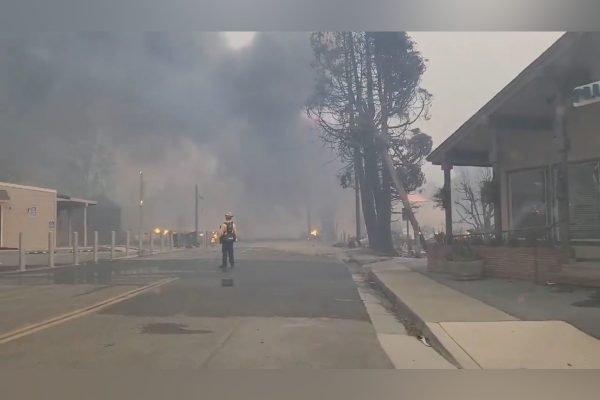 Incêndio em Greenvile