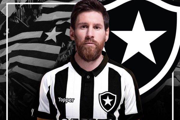 Memem de Messi no Botafogo