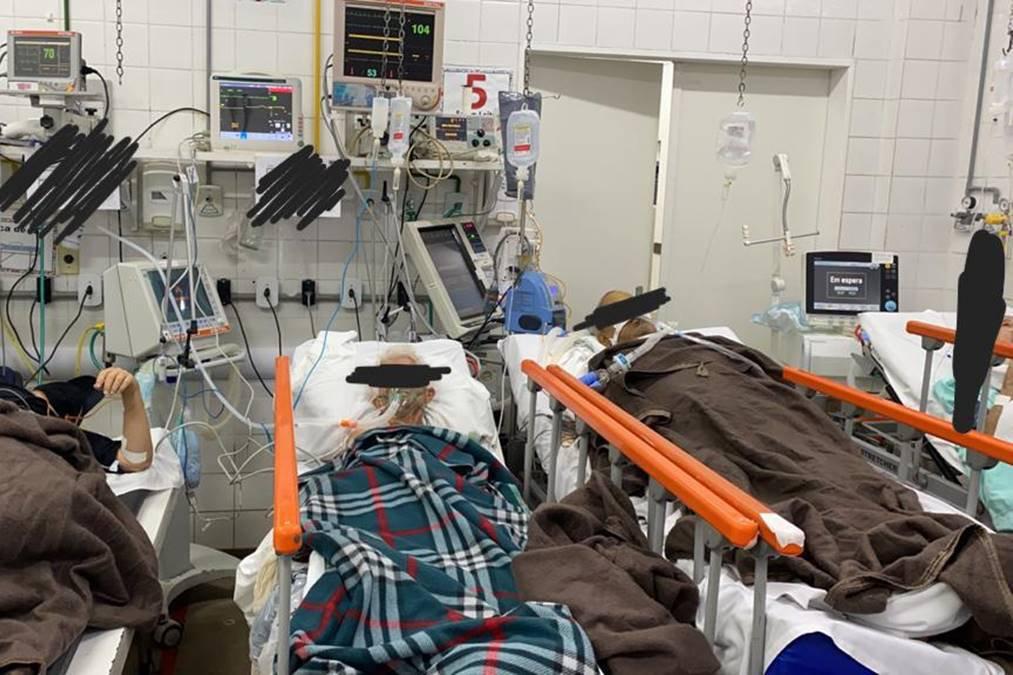 Los médicos deploran la capacidad del 200% y la escasez de profesionales en HRG