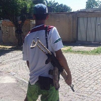 """Traficante """"Ligeirinho"""", da comunidade Castelar"""