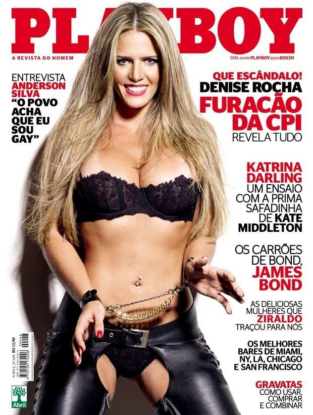 Denise Rocha, capa da Playboy