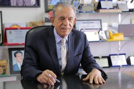 Iris Rezende (MDB), político, ex-governador de Goiás e ex-prefeito de Goiânia