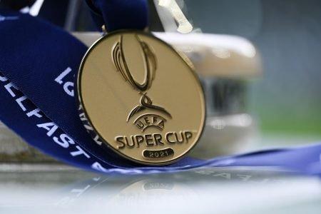 Supercopa Europeia medalha