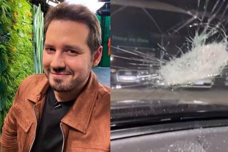 Donny de Nuccio sofreu uma tentativa de assalto em SP