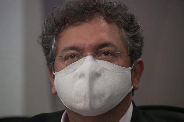 Depoente, Francisco Maximiano, sócio-proprietário da Precisa Medicamentos na CPI da Pandemia no Senado Federal