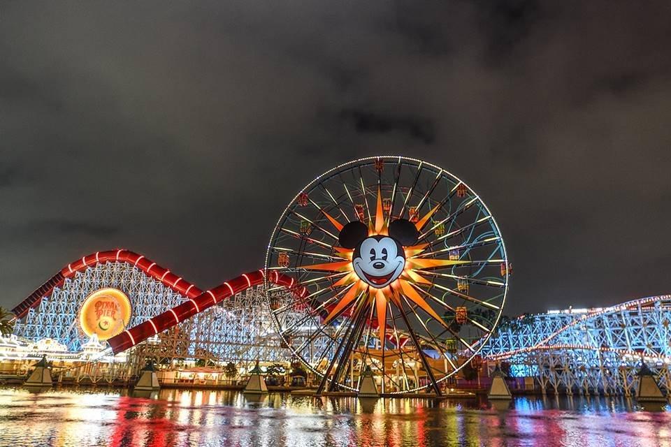 Disneyland Resort em Anaheim, na Califórnia